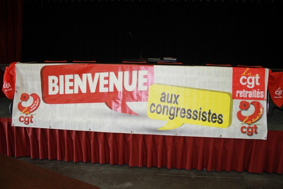 Congrès national de l'Union Syndicale des Retraités de la santé et de l'action sociale CGT