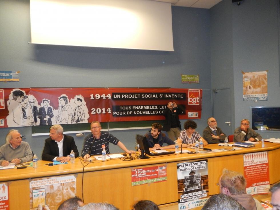A Caen, la création d'un nouveau projet social