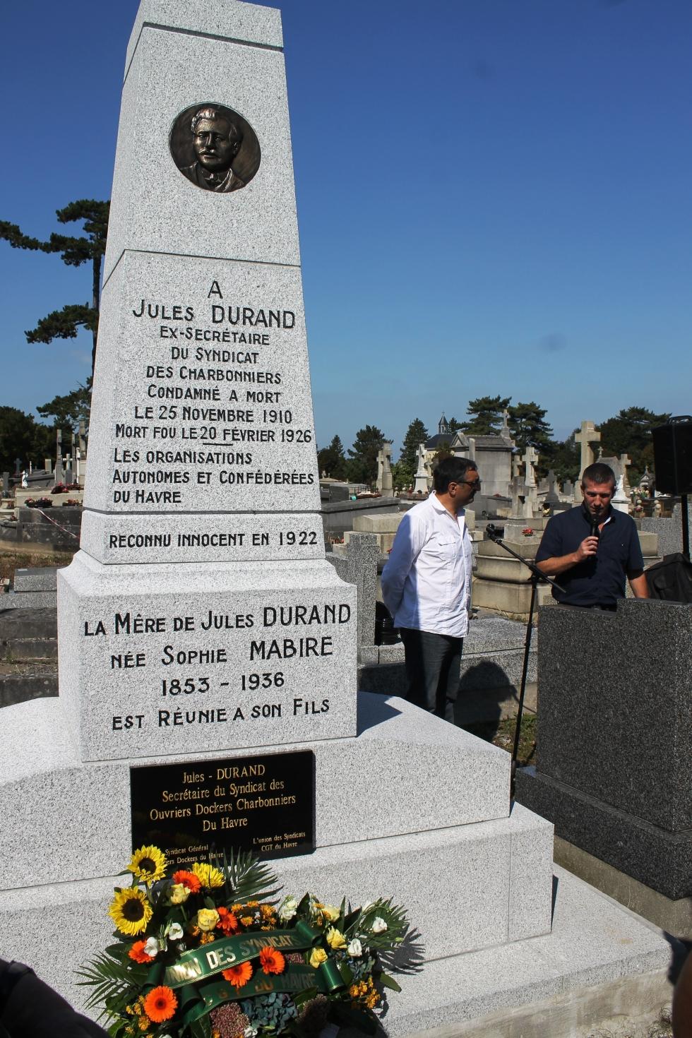 Une nouvelle vie pour le monument à Jules DURAND
