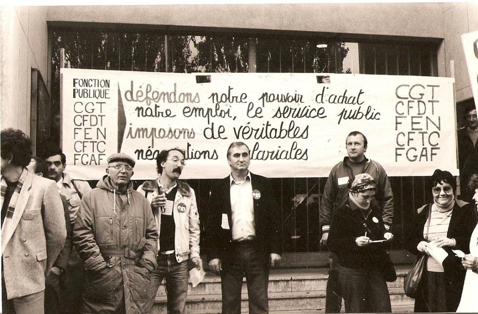 Création de l' Institut CGT d'Histoire Sociale dans l' Eure