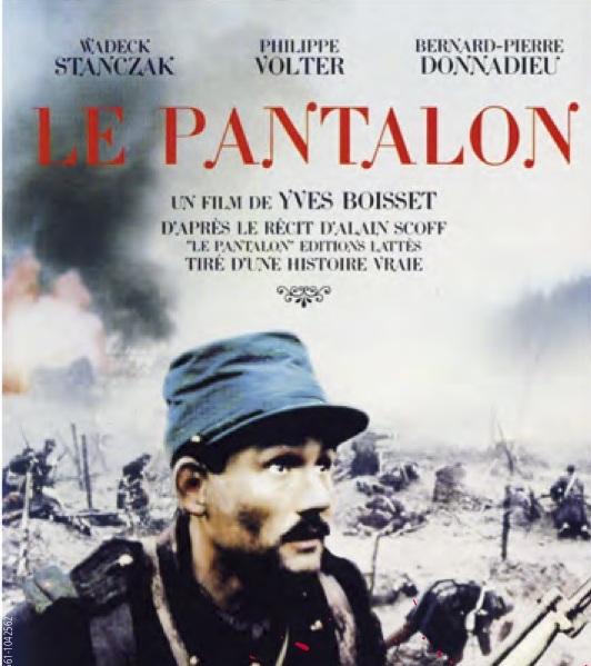 LE PANTALON , un film d' Yves BOISSET à Gonfreville-l'orcher
