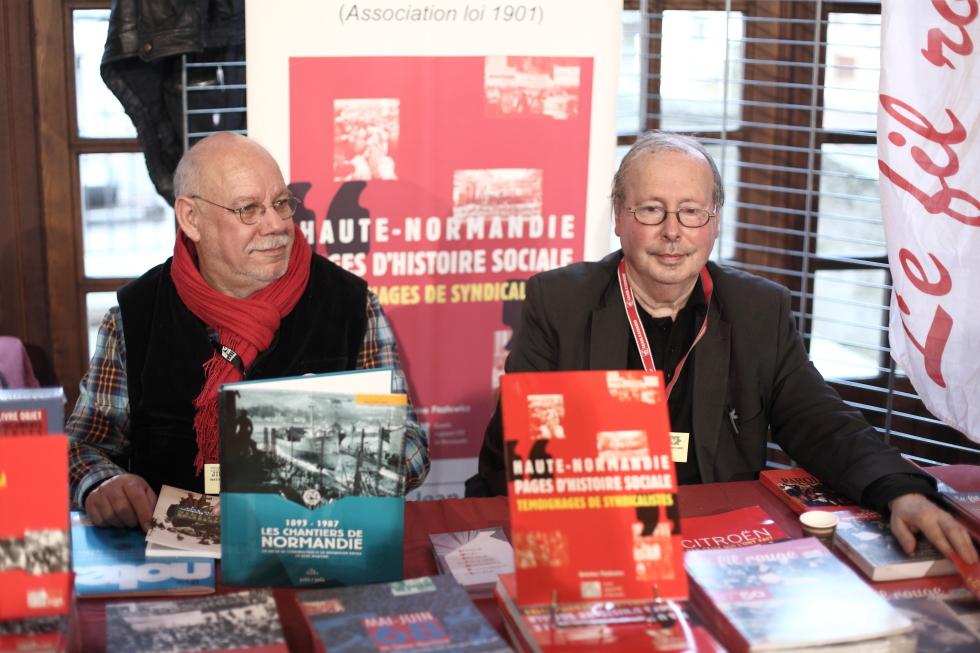 La présence de l' IHS Cgt au festival du livre de jeunesse de Rouen
