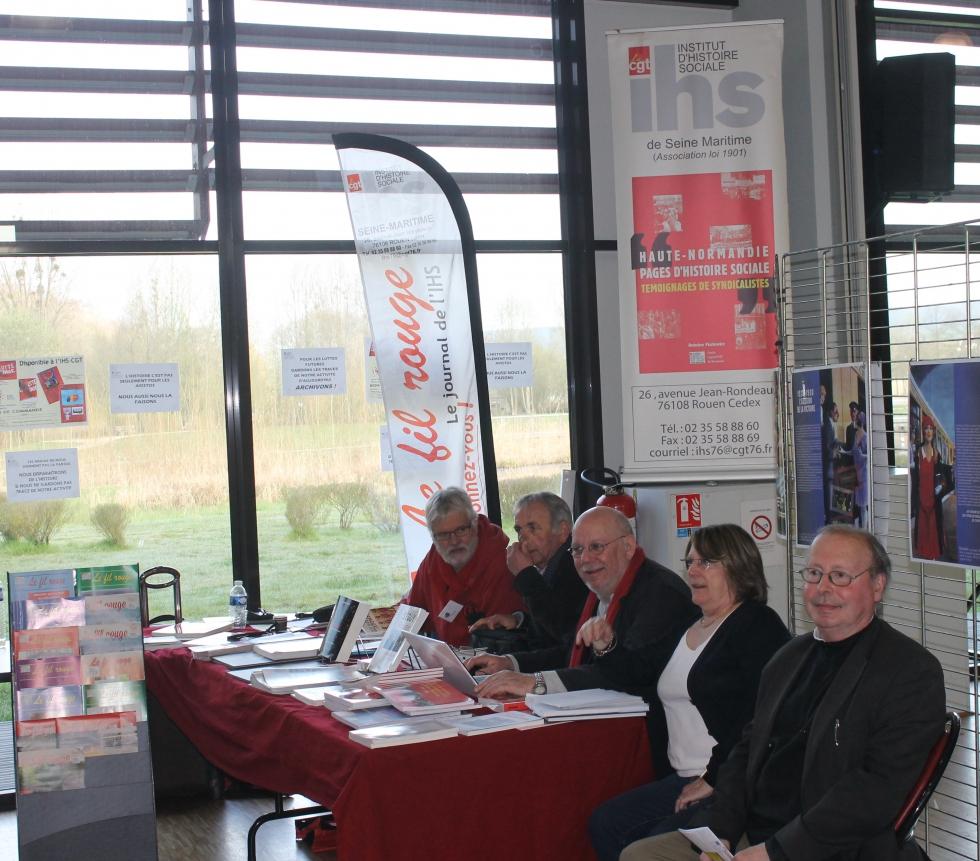 Congrès de l' Union Départementale CGT de Seine-Maritime à Lillebonne