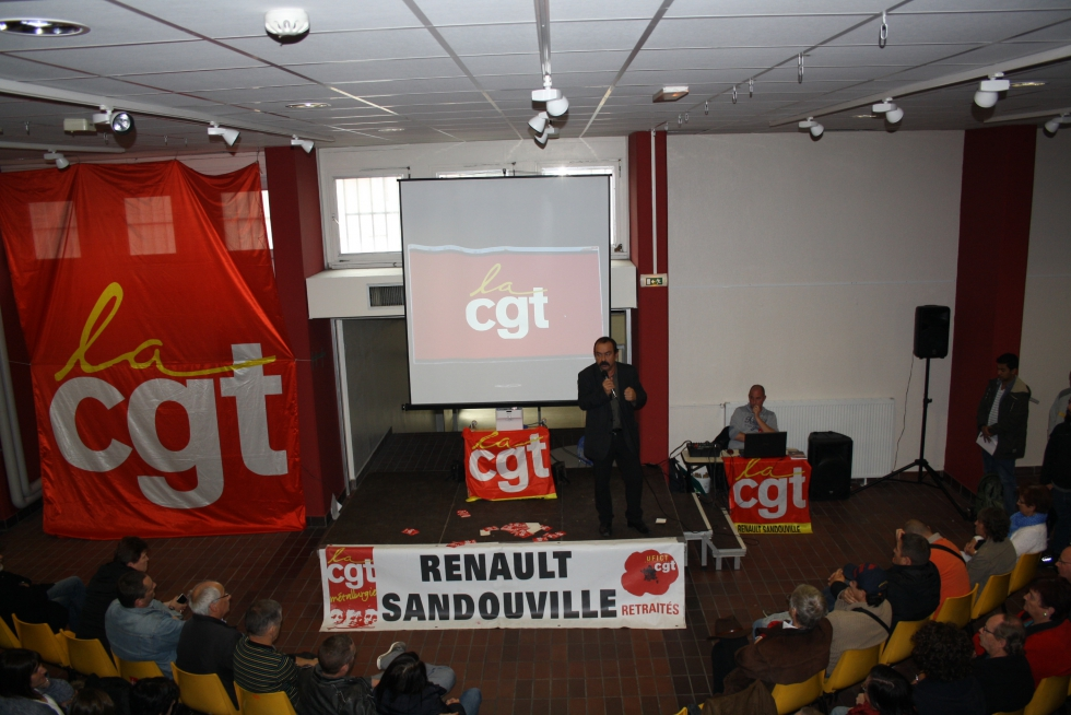 Les 50 ans de la CGT à  Renault Sandouville (2)