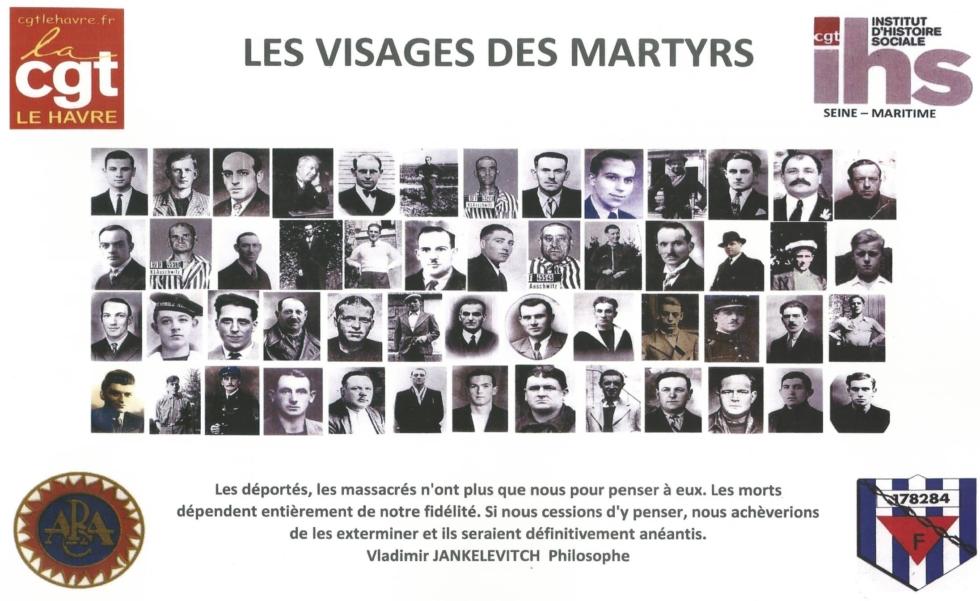 Les visages des martyrs