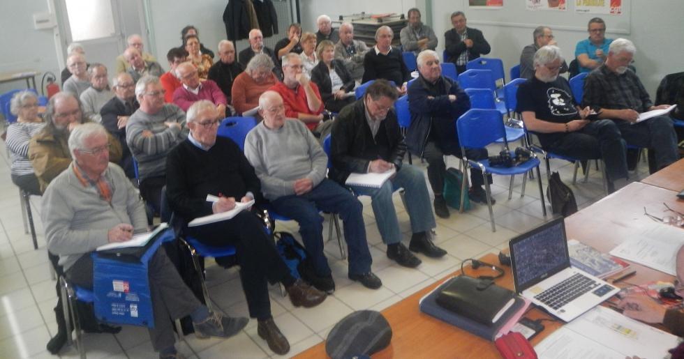 Assemblée générale de l'IHS Cgt de Seine-Maritime,  le 14 avril 2016 à «La Maison du Peuple de Sotteville»