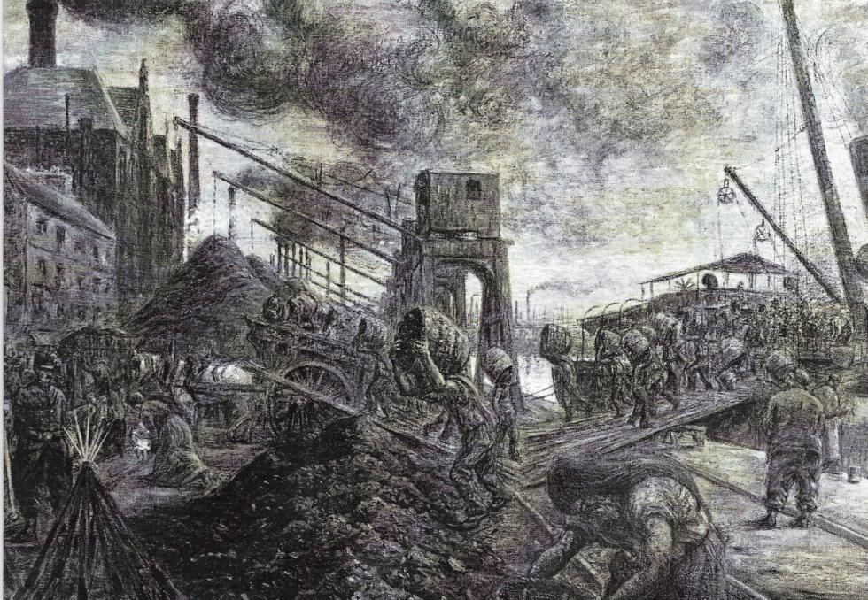 VIE ET COMBATS DE JULES DURAND,DOCKER CHARBONNIER-1880-1926