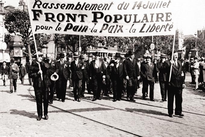 14  juillet 1936 à Rouen. © Coll. Guy Pessiot