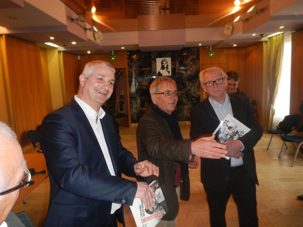 Une délégation de l' IHS Cgt 76 reçu par le Sénateur Thierry FOUCAULT