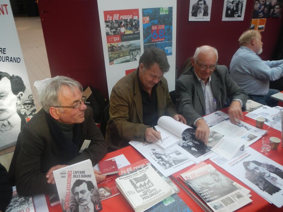 Participation de notre IHS Cgt 76 au 1er Salon du livre social à Montreuil