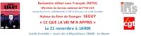 CE QUE LA VIE M'A APPRIS- Le livre de Georges Séguy au Havre
