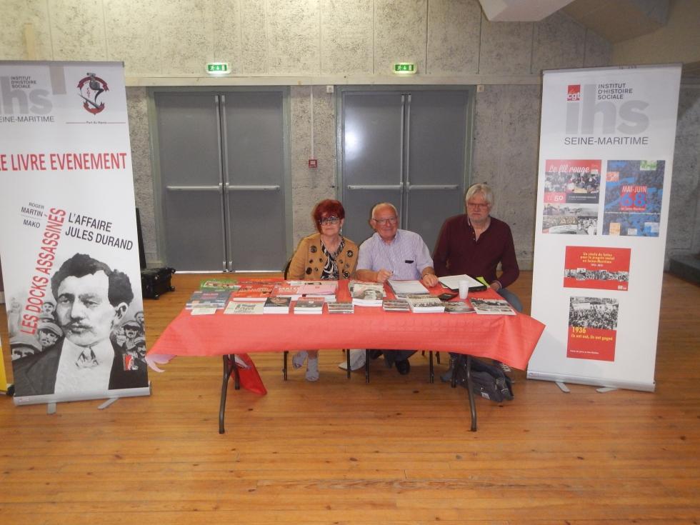 L' IHS CGT 76, à la rencontre des syndicats CGT du Havre lors du comité général de l' UL le 13 juin 2019